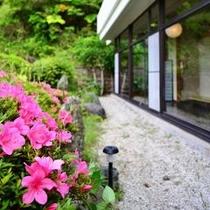 ◆宴会場前〜庭園