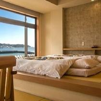 ◆海を眺めてお昼寝も…
