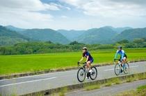 サイクリングイメージ(田園風景)