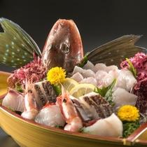 小舟地魚盛※イメージ
