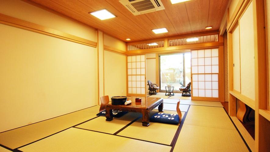 *【和室15畳】広々としたお部屋は3世代やグループでのご利用におすすめです。
