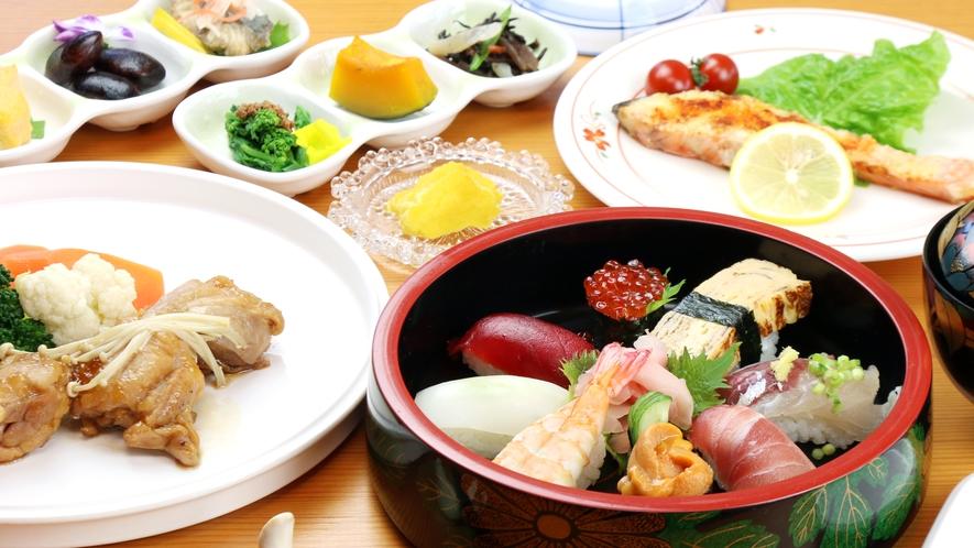 ◆お鮨コース☆地元で有名な鮨屋の握り鮨付の人気の夕食プランです♪