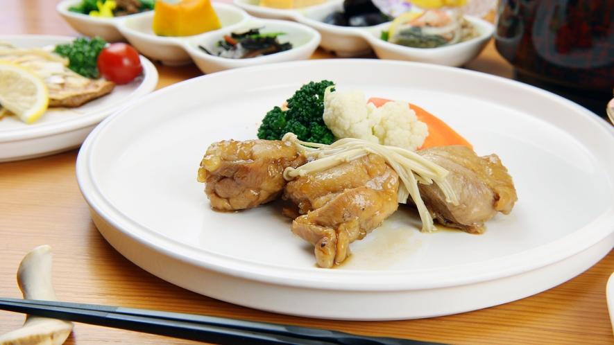 ◆お肉料理 味のしみ込んだ柔らかいお肉料理も人気です♪