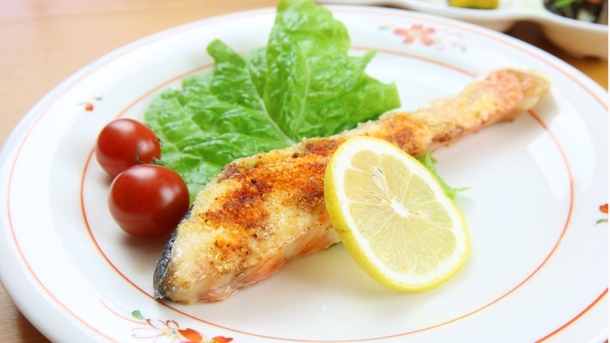 ◆お魚料理はムニエルや煮魚など、ご用意致します。南房総の新鮮なお魚をご堪能ください!