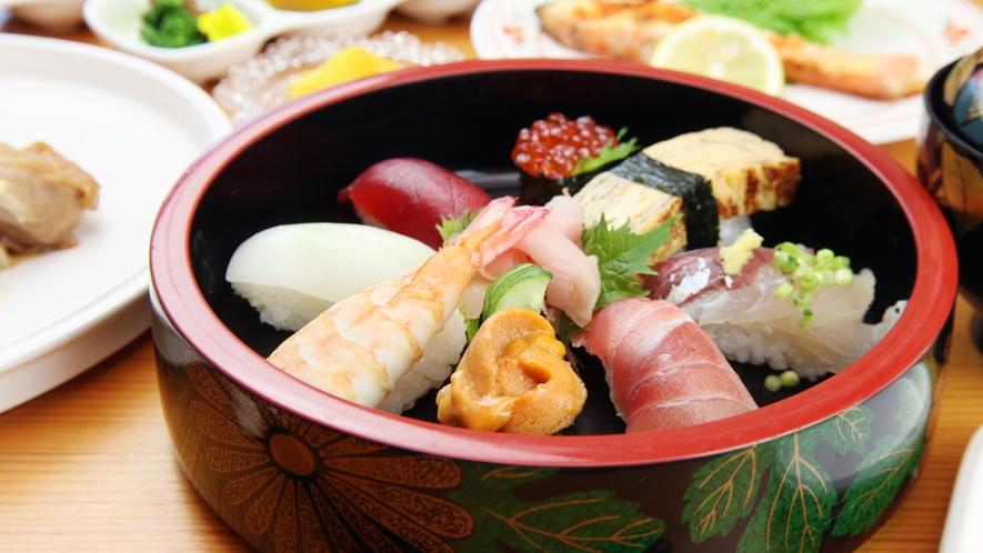 ◆鮨の街『館山』で評判の鮨屋のにぎり寿司を味わってください!