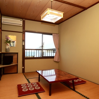 のどかな雰囲気の和室6畳