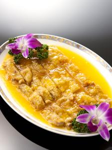 単品イメージ/若鶏の唐揚げレモンソースかけ