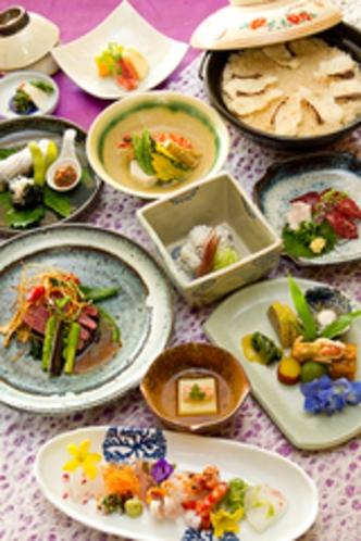 【日本料理まつり】漫遊会席