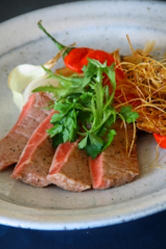 日本料理まつり/肥後あか牛ステーキ/単品イメージ
