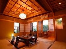 匠 こだわりの和風造りの部屋(12畳)