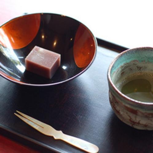 抹茶のサービス