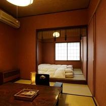 2階 二間続きの和室