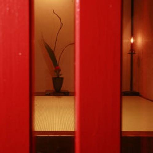 利休庵 -玄関-