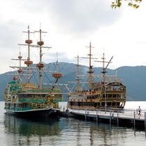周辺観光 -桃源台・海賊船-