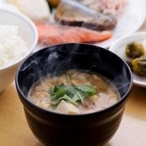 ■朝食:お味噌汁