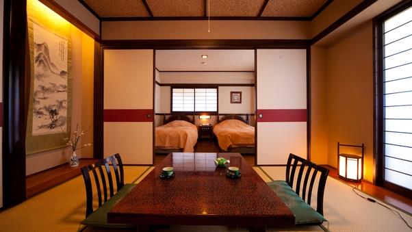 スタンダード坪庭側客室(和室または和洋室)
