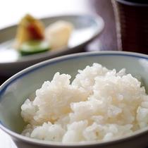 ご飯・香の物・味噌汁【夕食一例】