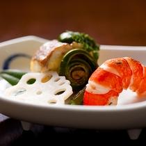 焼物・鯛木の芽焼【夕食一例】