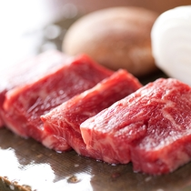 強肴・九州産黒毛和牛の鉄板焼き【夕食一例】