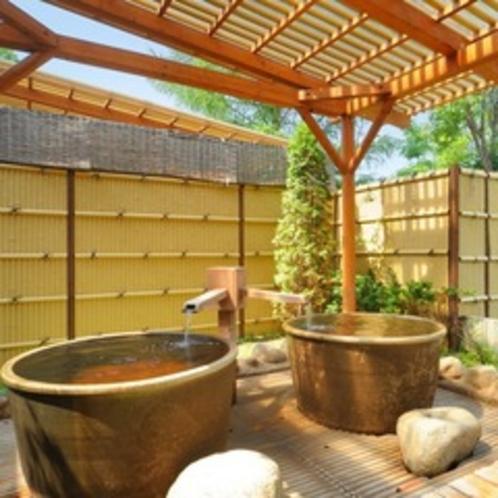 ◇露天風呂◇ 壺湯でのんびり♪