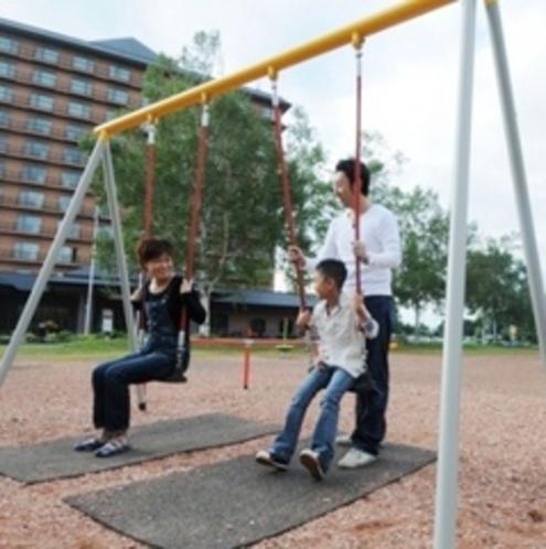 ホテル目の前公園2