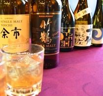【北海道premiumドリンクフェアー】ウイスキー、焼酎を揃えました。