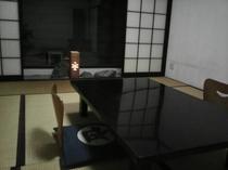 広々とした和室のお部屋です。