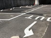 ホテル専用平面駐車場