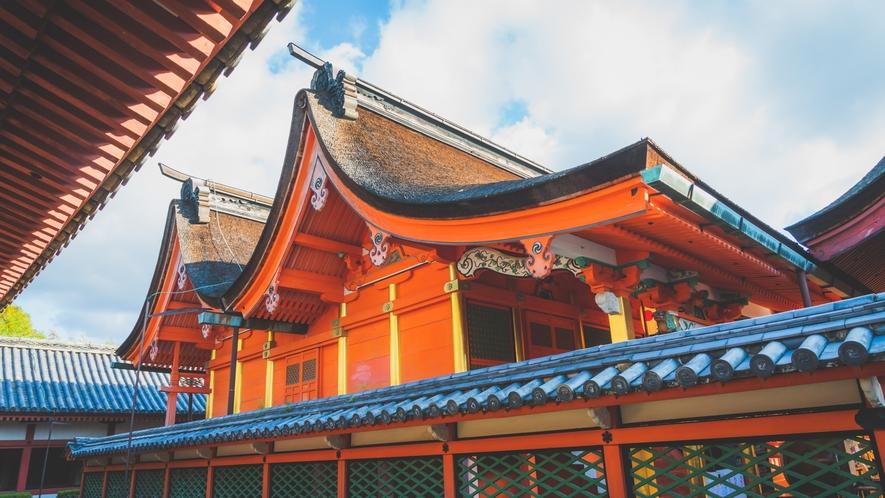 伊佐爾波神社(八幡造り)