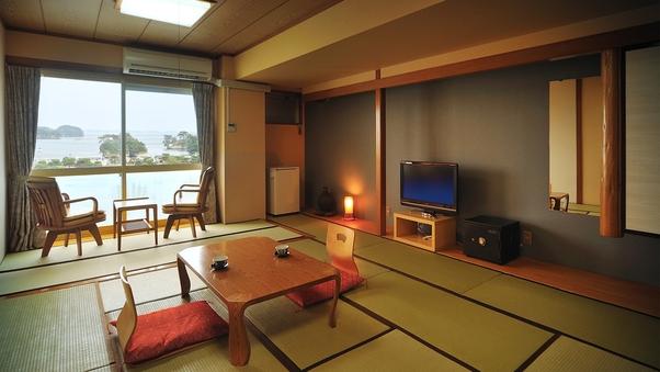 ◆グルメ◆松島湾を望むお部屋