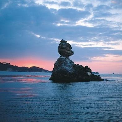 【巡るたび、出会う旅。東北】【牛タンとタラバ蟹・旬の和食膳】海の見える部屋で【お部屋食】