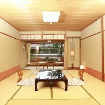 【日本庭園一望】和室8帖♪バスなし
