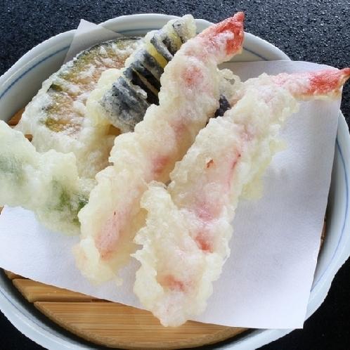 【かにづくし会席】蟹天婦羅