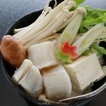 【冬のスタンダード会席】河豚鍋