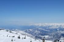 山頂からの景色です!思わず叫びたくなりますよ。