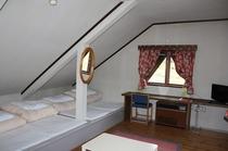 備え付けベッド付き洋室ギャレット