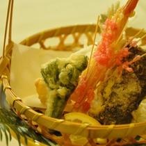 旬の天ぷら