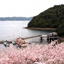 仙酔島渡船場