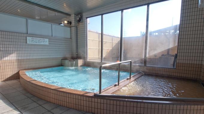 ≪素泊まり≫二種類の天然温泉!泉質の違う温泉でのんびり癒されよう