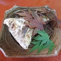 *【夕食一例】富山湾で獲れた季節の魚の焼き魚