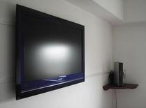 32型テレビ設置部屋 wooo32型テレビ