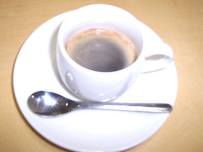 朝にはモーニングコーヒー無料サービス!