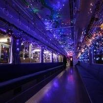 イルミネーション電車