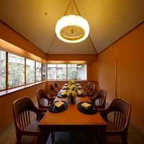 6階日本料理「弁慶」洋個室