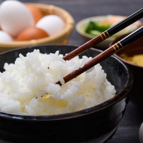 朝食・和洋食バイキング(蔵王清流米「ひとめぼれ」)
