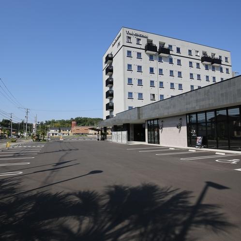 ベネシアンホテル白石蔵王・駐車場
