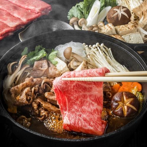 仙台牛A5すき焼き/日本料理「この花」