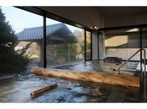 男性大浴場「錦の湯」内湯