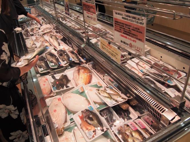 オガーレ 魚コーナー