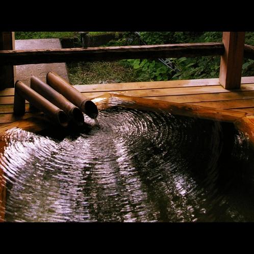 良質な温泉が当館の一番のウリです。